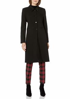 Vince Camuto Women's Embellished Collar Topper Coat