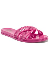 Vince Camuto Women's Erindra Embellished Jelly Slide Sandals Women's Shoes