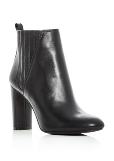 VINCE CAMUTO Women's Fateen Leather High Heel Booties