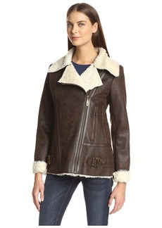 Vince Camuto Women's Faux Shearling Jacket