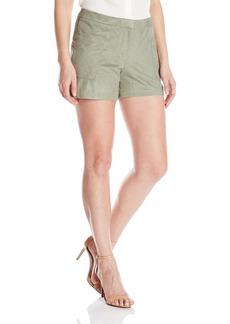 Vince Camuto Women's Faux Suede Shorts