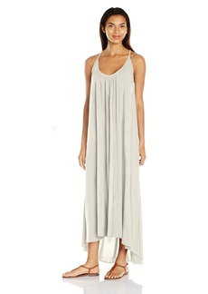 Vince Camuto Women's Fiji Solids Racer Back Maxi Cover up Dress  XS