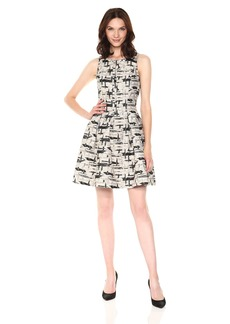 Vince Camuto Women's Fit and Flare Dress