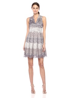 Vince Camuto Women's Fit and Flare Lace Dress