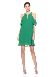 Vince Camuto Women's Float Chiffon Dress