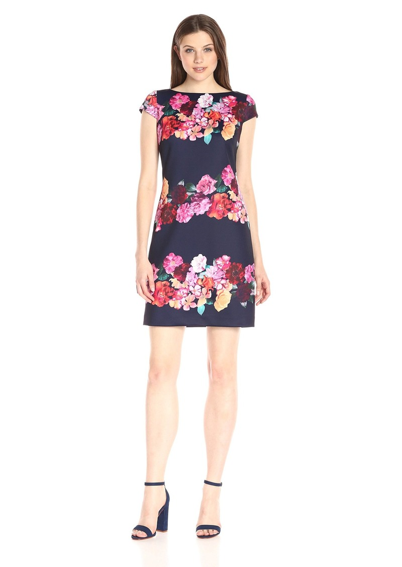 Vince Camuto Women's Floral Printed Shift Dress