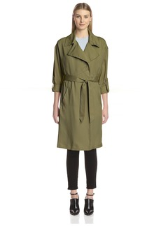 Vince Camuto Women's Fluid Trench Coat  M