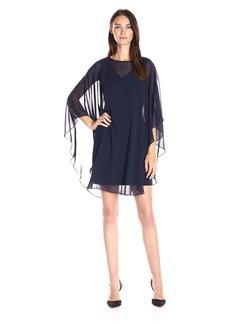 Vince Camuto Women's Flutter Chiffon Dress
