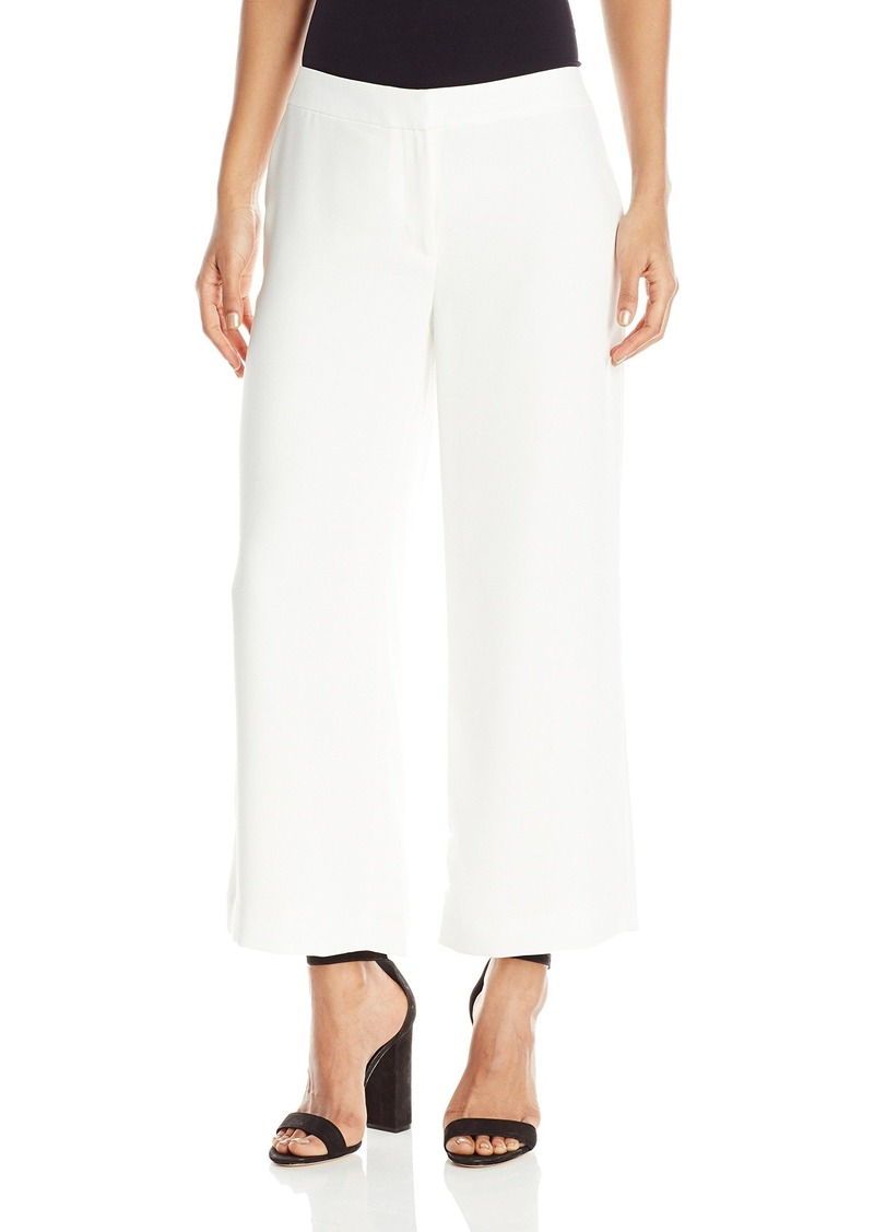 Vince Camuto Women's Front Zip Culottes Lined