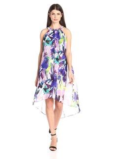Vince Camuto Women's Hi-Low Chiffon Dress