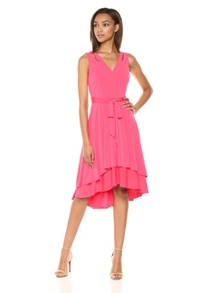 Vince Camuto Women's High Low Jersey Dress