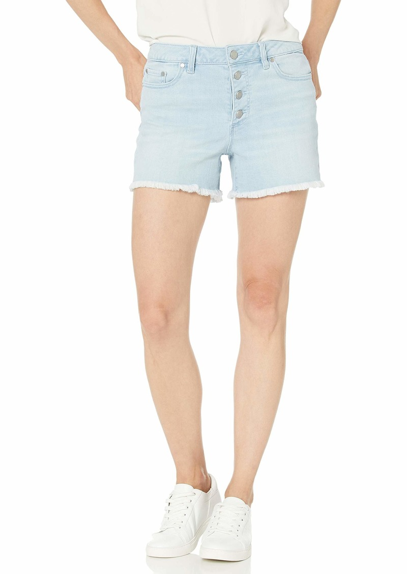 Vince Camuto Women's High Rise Button Fly Short