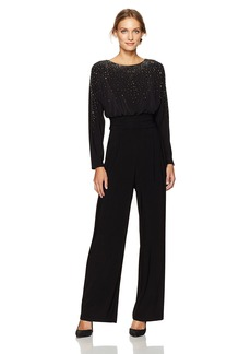 Vince Camuto Women's Ity Boat Neck Jumpsuit  XS