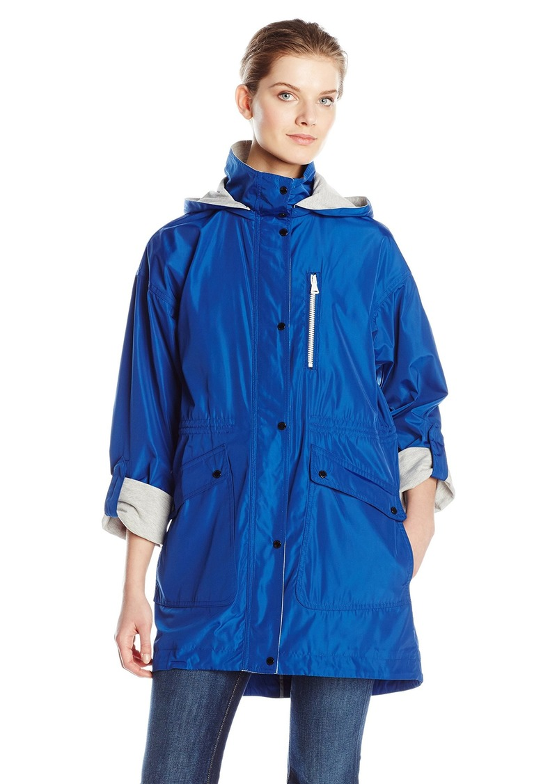Vince Camuto Women's Jersey Lined Anorak