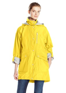 Vince Camuto Women's Jersey Lined Anorak  Large