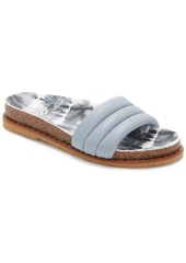 Vince Camuto Women's Kandler Puffy Pool Slide Sandals Women's Shoes