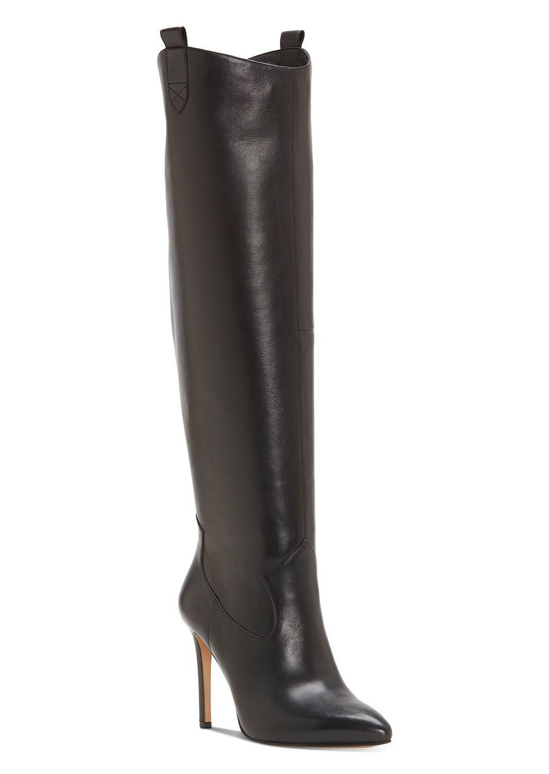 VINCE CAMUTO Women's Kervana Pointed Toe High Heel Dress Boots