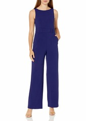 Vince Camuto Women's Kors Wide Leg Crepe Jumpsuit (Regular
