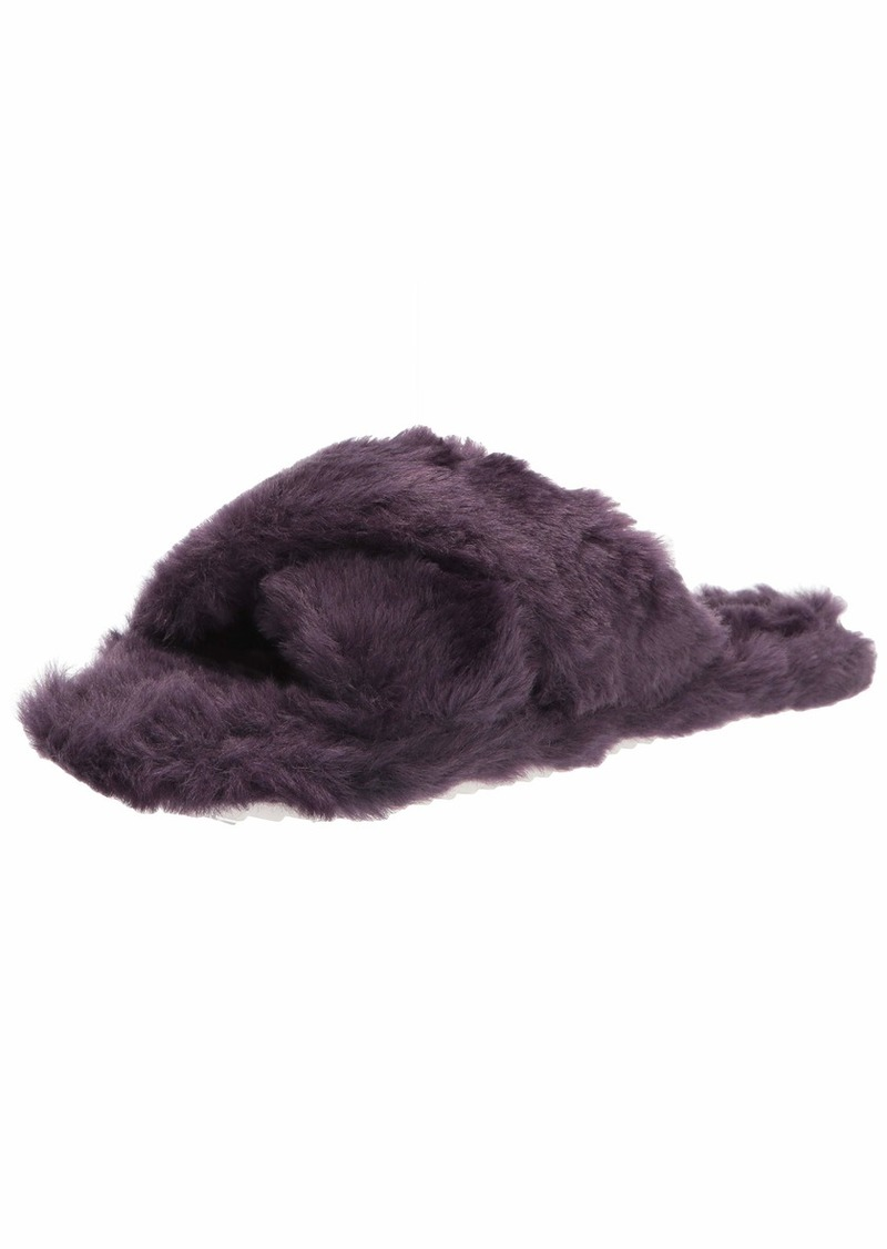 Vince Camuto womens Kortendie Faux Fur Slipper   US