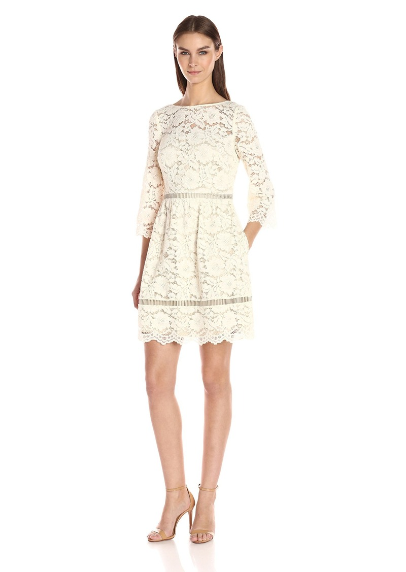 On Sale today! Vince Camuto Vince Camuto Women s Lace Fit and Flare ... 2d0c91e07