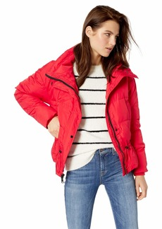 Vince Camuto Women's Light Weight Short Down Jacket red XSmall
