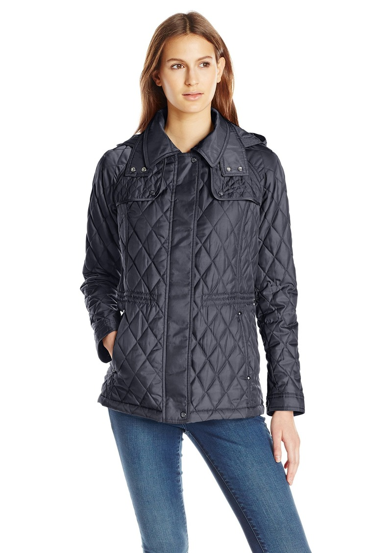 Vince Camuto Vince Camuto Women's Lightweight Quilted Jacket with ... : lightweight quilted coat - Adamdwight.com