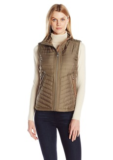 Vince Camuto Women's Lightweight Quilted Vest  X-Small