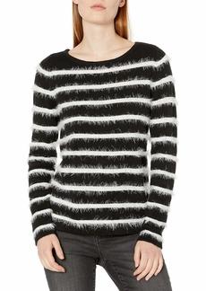 Vince Camuto Women's Long Eyelash Stripe Sweater