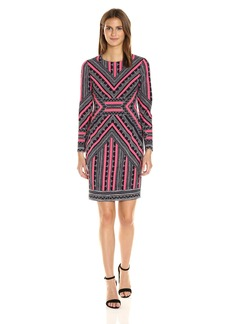 Vince Camuto Women's Long Sleeve Bodycon Dress