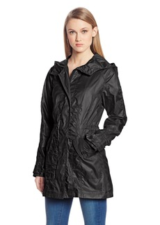 Vince Camuto Women's Long Sleeve Hooded Anorak with Pockets  Large