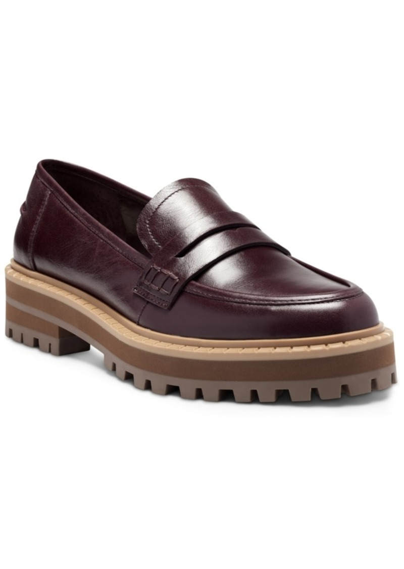 Vince Camuto Women's Mckella Lug Sole Loafers Women's Shoes