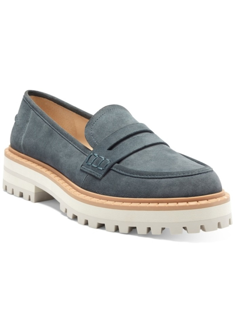 Vince Camuto Women's Mckella Lug Sole Loafers Women's Shoes
