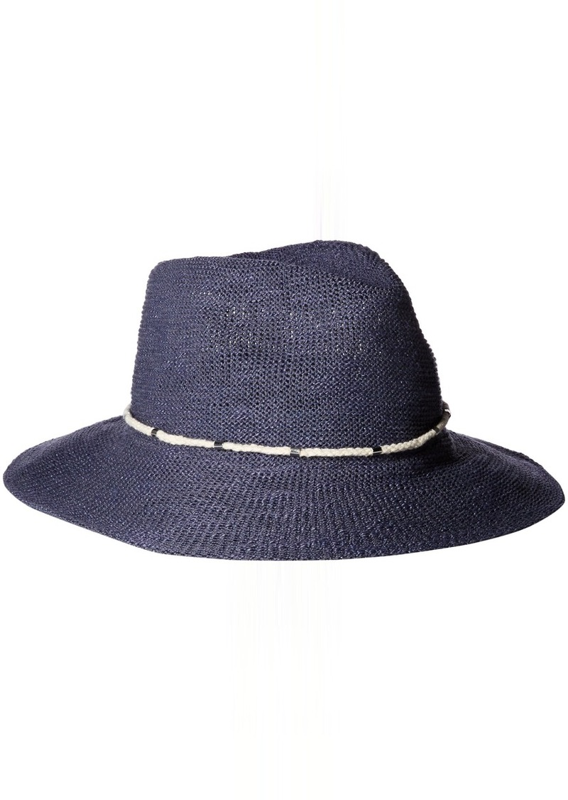 c6cec132b Women's Metal and Rope Banded Packable Panama Hat