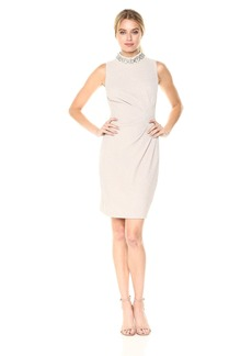 Vince Camuto Women's Novelty Knit Bodycon Dress