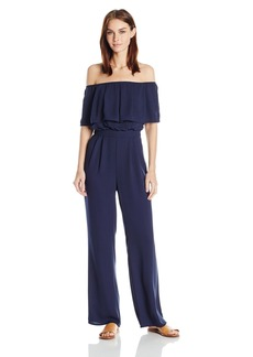 Vince Camuto Women's Off The Shoulder Jumpsuit