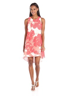 Vince Camuto Women's Organza Mesh Float Dress