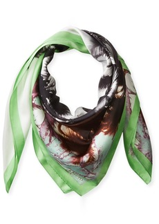 Vince Camuto Women's Paradise Printed Silk Scarf