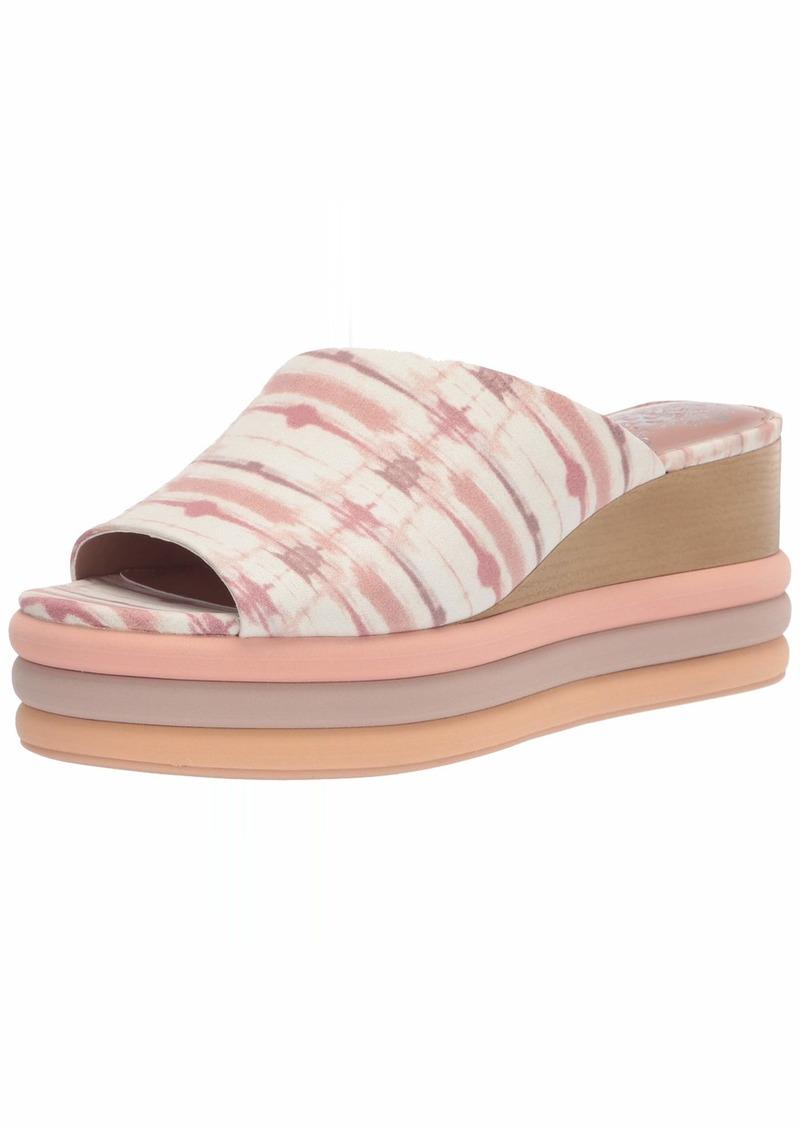 Vince Camuto Women's Pendrea Platform Slide Wedge Sandal