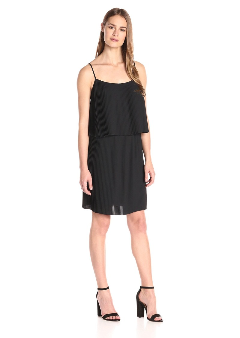 Vince Camuto Vince Camuto Women S Pleated Popover Tank Dress