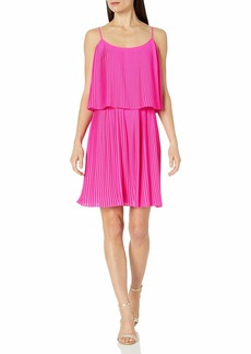 Vince Camuto Women's Pleated Popover Tank Dress