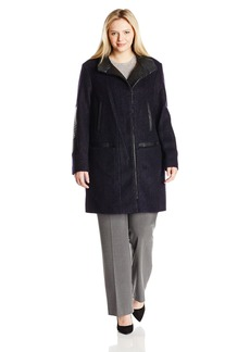 Vince Camuto Women's Plus-Size Wool Coat