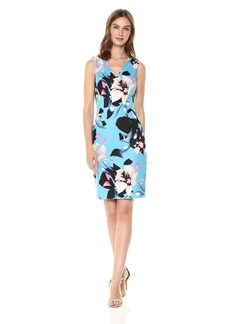 Vince Camuto Women's Printed Bodycon Dress