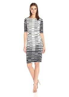Vince Camuto Women's Printed Ity Bodycon Dress