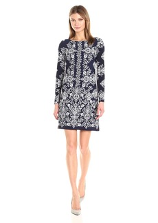 Vince Camuto Women's Printed Ity T Body Dress