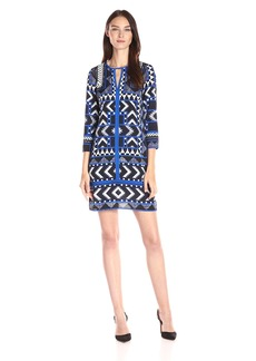 Vince Camuto Women's Printed T-Body Dress