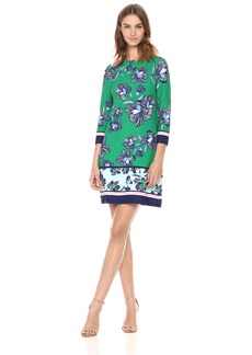 Vince Camuto Women's Printed Tbody Dress
