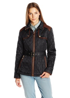 Vince Camuto Women's Quilted Barn Jacket