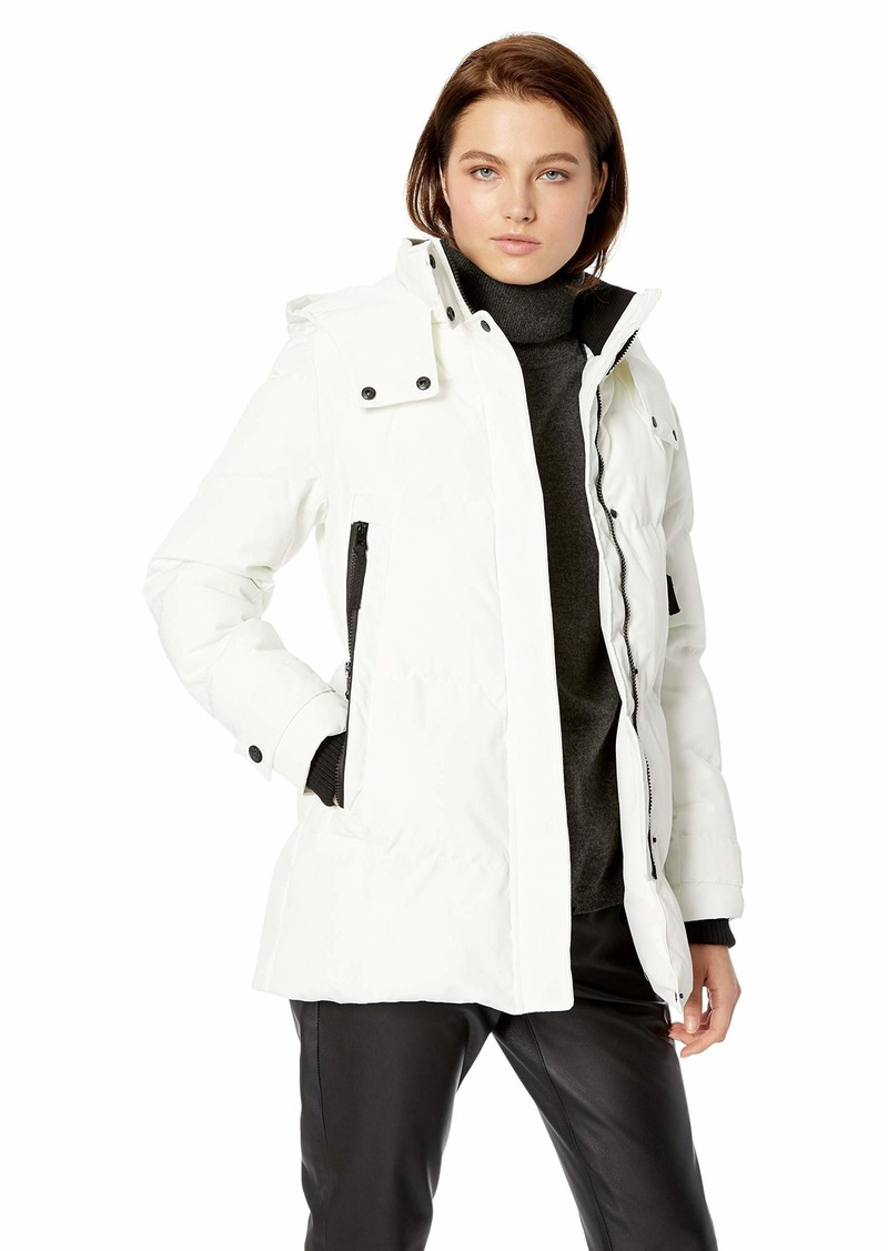 Vince Camuto Women's Quilted Down Jacket  XSmall