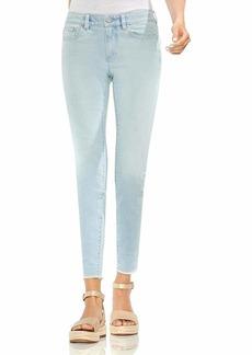 Vince Camuto Women's Released Hem Five Pocket Skinny Jean surf wash /12