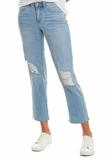 Vince Camuto Women's Ripped Knee Straight Leg Jean  /10